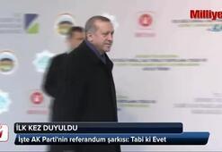 İşte AK Partinin referandum şarkısı: Tabi ki Evet