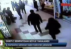 Şişli'de terör örgütü DHKP-C sempatizanı kadın böyle yakalandı