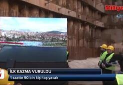Dudullu-Bostancı Metrosu için ilk çalışmalar başladı