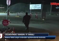Adana'da cezaevinde yangın: 3'ü ağır 11 yaralı
