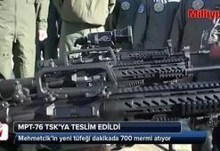 Tarihi gün Milli tüfek MPT-76 TSKda