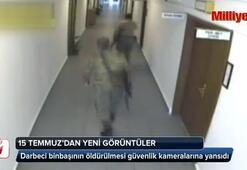 Darbeci binbaşının öldürülmesi güvenlik kameralarına yansıdı
