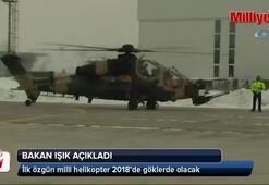 Milli helikopter 2018'de göklerde olacak