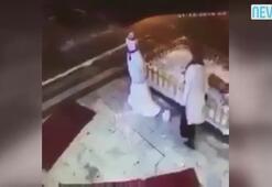 Kardan adam, kadından intikamını böyle aldı