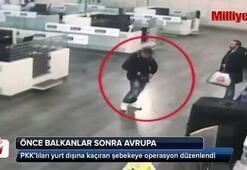 PKK'lıları yurt dışına kaçıran şebekeye operasyon kamerada