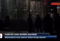 Kabil'de milletvekiline canlı bomba saldırısı