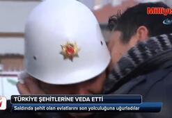 Türkiye şehit evlatlarını ebediyete uğurladı