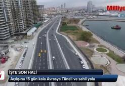 Avrasya Tüneli Projesinin son görüntüsü