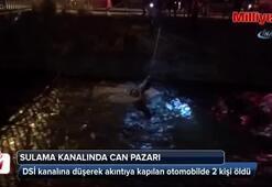 Muğlada sulama kanalında can pazarı: 2 ölü, 1 yaralı