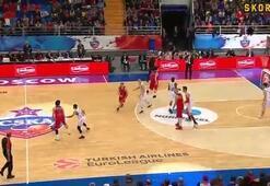 Euroleaguede gecenin asisti Milos Teodosic