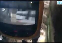 İstanbulda yeni metro vagonları raylara böyle indirildi