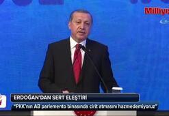 Erdoğan'dan AB'ye: Hazmedemiyoruz
