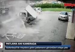 İstanbul'daki patlama anı kamerada