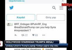 Ünlü Hollywood starından Trumpa Türkiye mesajı