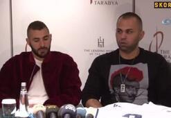 Benzema: Türkiyede Beşiktaşı beğeniyorum