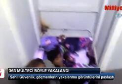 363 mülteci böyle yakalandı