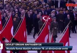 Atatürk, Anıtkabirde anıldı