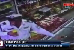 Hırsız 'polis' çıktı