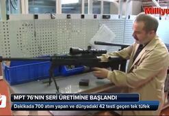 Milli Piyade Tüfeği MPT-76nın seri üretimi başladı