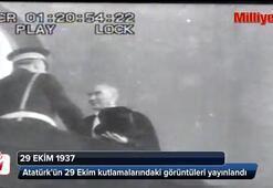 Atatürkün son 29 Ekim geçit töreni görüntüleri