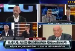 Ali Şenden Ali Koç yorumu