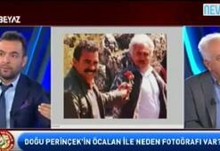 Perinçeke canlı yayında Öcalanla çektirdiği fotoğraflar gösterildi
