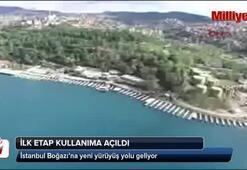 İstanbul Boğazına yeni yürüyüş yolu geliyor