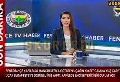 Fenerbahçeyi taşıyan uçağın son hali