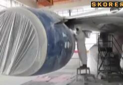 O uçak böyle hazırlandı