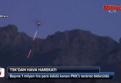TSKdan hava harekatı: 9 terörist öldürüldü