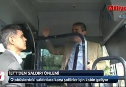 İETTden otobüslere şoför kabini