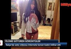 Seks videosu internete konan kadın intihar etti