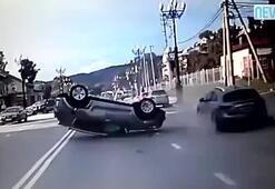 Dünyanın en saçma kazasını yaptı
