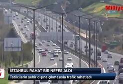 Tatilciler gitti, İstanbullular rahat nefes bir aldı
