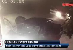 Kar maskeli hırsızlar polisten kaçamadı