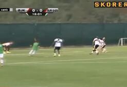 Aboubakar ilk golünü attı
