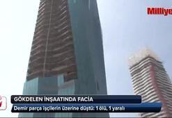 İzmirde gökdelende facia