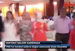 Vandaki patlama anı, düğün kamerasına yansıdı