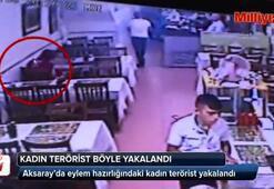 Eylem hazırlığındaki kadın terörist böyle yakalandı