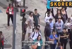 Olimpiyatların düzenlendiği Rioda skandal hırsızlık görüntüleri...