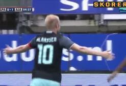 Ajax deplasmanda zorlanmadı
