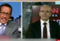 Mehmet Şimşek canlı yayında CNN sunucusuna böyle susturdu