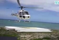 Helikopter kazası kamerada
