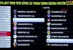 Süper Ligde 34 haftanın programı belli oldu
