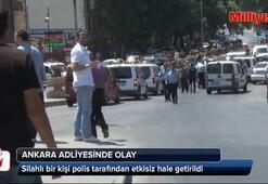 Ankarada polise saldırı: 1 ölü, 2 kişi kaçtı