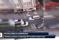 Darbeci yarbayın kullandığı ZPT polisten böyle kaçtı