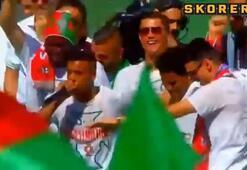 Portekiz kutlamalarına Nani damgası