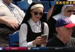 Çılgın rahibe Öyle bir yakalandı ki...