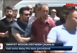 Atalay Filiz Emniyet Müdürlüğü'nden çıkarıldı