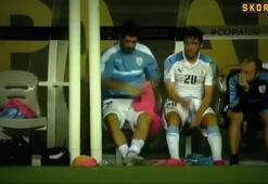 Uruguay elendi, Suarez çıldırdı